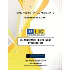 LIC Assistants (Prelims)