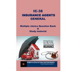 IC 38 –Insurance Agent (Nonlife/General Insurance)