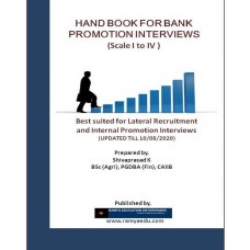 Hand Book For Bank Promotion Interviews (Scale I to IV)